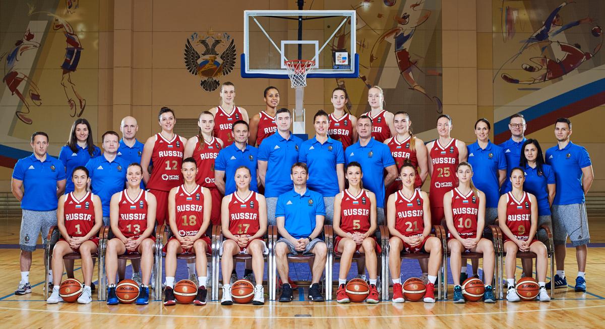 97de5bb9 Новости / Женская сборная России по баскетболу