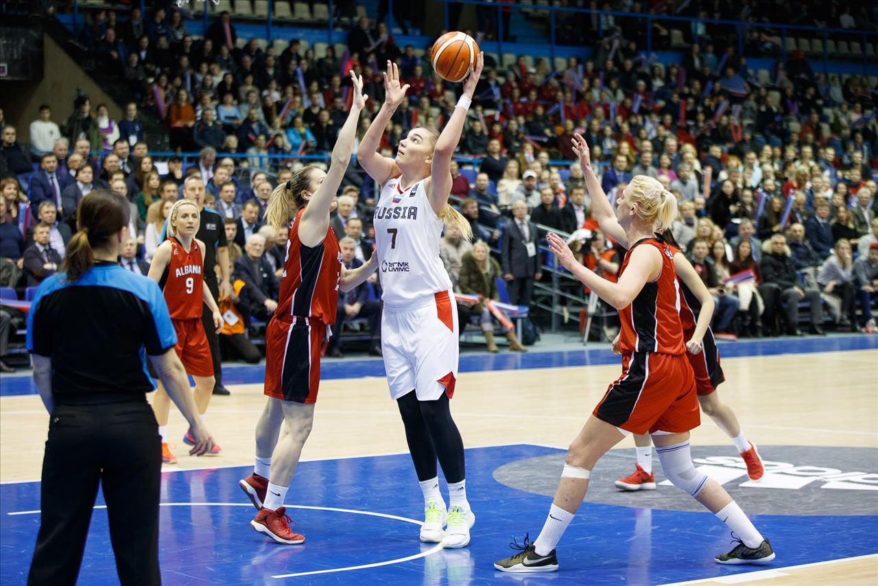 фото баскетболисток россия лишь основных известных